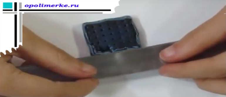 Срезание слоя в технике Мокуме Гане