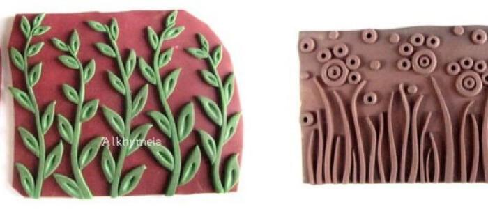 Текстура полимерной глины Даниэла Д'Ува из Италии