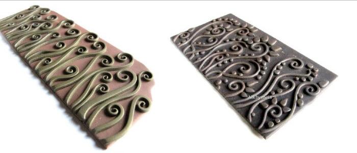 Текстура на полимерной глине