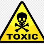 Знак токсично