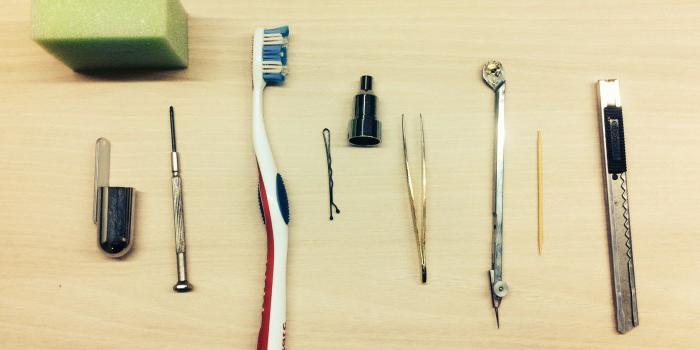 Простейшие инструменты для работы с полимеркой