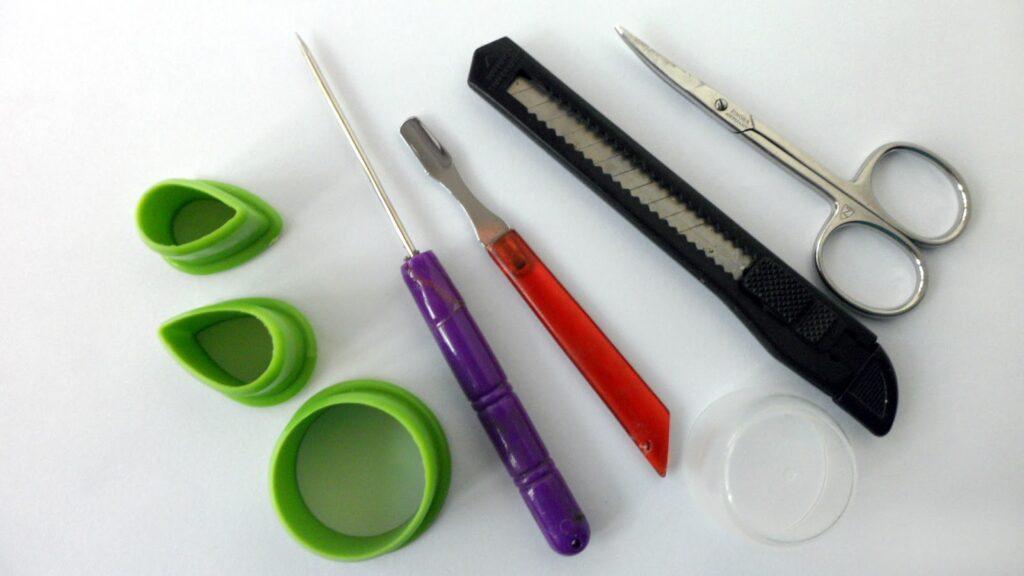 Инструменты для полимерки которые всегда есть дома